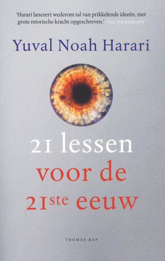 Boek cover 21 lessen voor de 21ste eeuw van Yuval Noah Harari (Paperback)