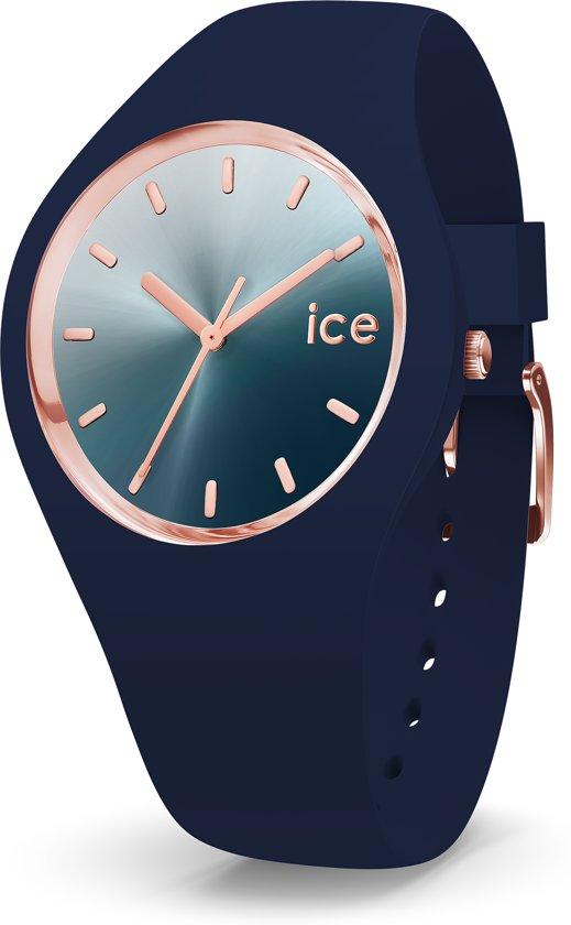 Ice-Watch Sunset IW015751 Horloge - Siliconen - Blauw - ∅  40 mm