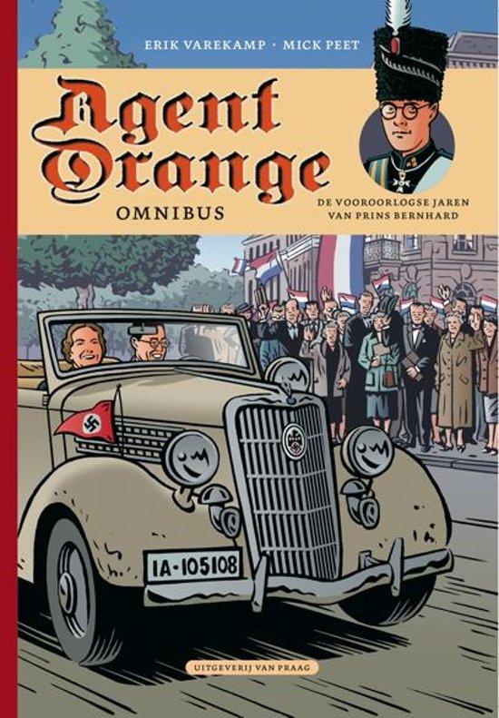Boek cover Agent orange bundel 01. agent orange omnibus (deel 1+2) van Erik Varekamp (Paperback)