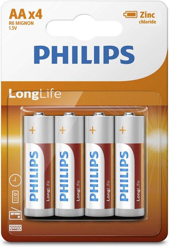 Philips AA batterijen - 4 stuks