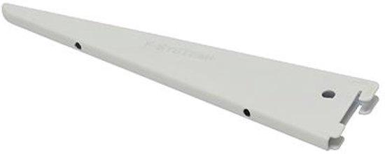 Duraline F-drager dubbel wit 27 cm