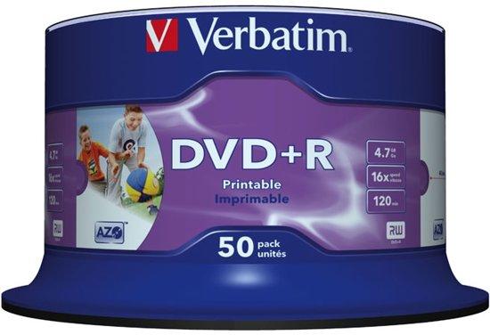 Verbatim - 50 x DVD+R - 4.7 GB 16x