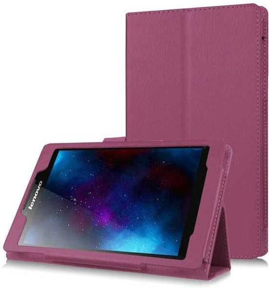 Lenovo TAB 2 A7-30 flip hoes Paars