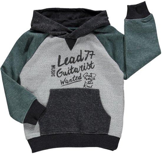 Losan Jongens Sweater Grijs Groen - Maat 110