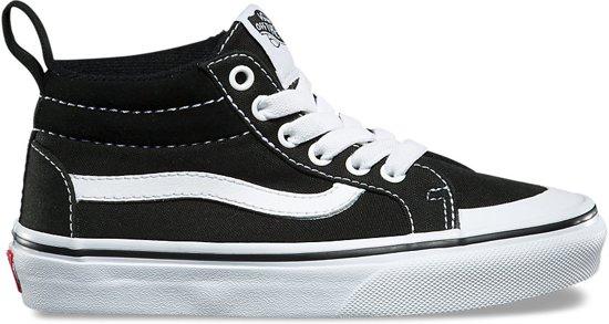 735e396a268 bol.com | Vans / Racer Mid Black / Sneakers / Kinderen / Zwart / maat 32