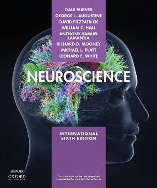 Boek cover Neuroscience van  (Paperback)