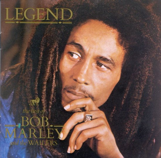 CD cover van Legend: The Best of Bob Marley and the Wailers van Bob Marley & The Wailers