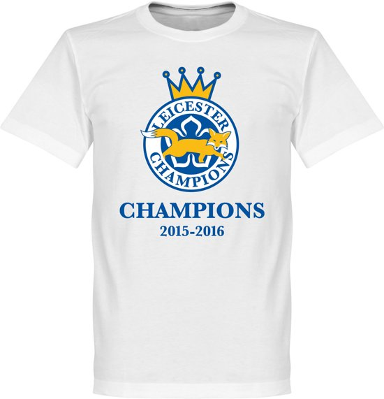 Leicester Foxes Champions 2016 T-Shirt - KIDS - 4
