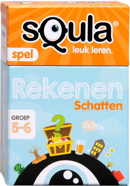 Afbeelding van het spel Spel Squla Rekenen Kaartspel