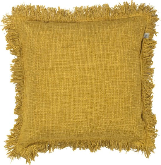 Dutch Decor Kussenhoes Sofia 45x45 cm mosterd