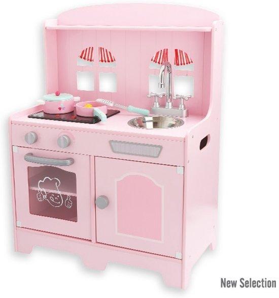 bol com Houten roze speelgoed keuken Country