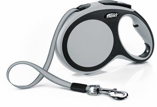 Flexi New Comfort Hondenriem - Grijs - L - 8 M