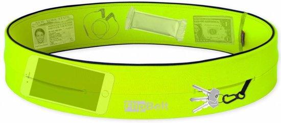Flipbelt- Running belt - Hardloop belt - Hardloop riem - Geel - L