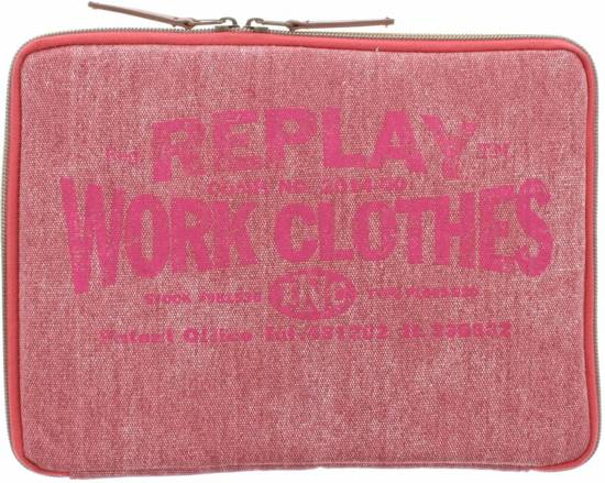 Replay Denim Tablet Sleeve Tot 11 Inch Light Pink