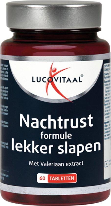 Lucovitaal nachtrust formule - Lekker slapen - 60 tabletten - Voedingssupplement