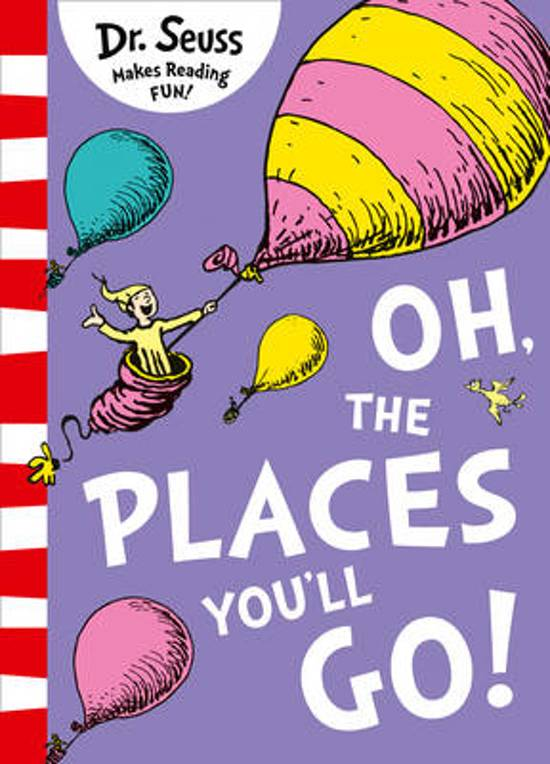 Bolcom Oh The Places Youll Go Dr Seuss 9780008201487 Boeken