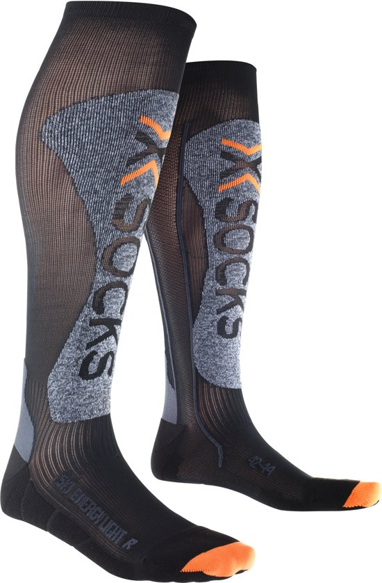 Light 42 Kniekousen Ski socks zwart Maat Grijs Energizer 44 X UwPZfqAc