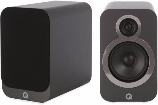 Q Acoustics 3020i - Boekenplank Luidsprekers - Grafiet ( per paar )