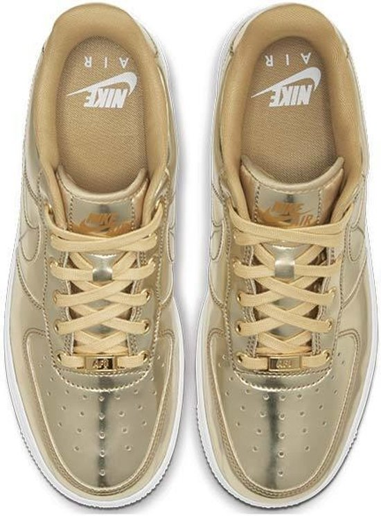 Nike Wmns Air Force 1 Sp 'gold' - Dames Sneaker Cq6566-700