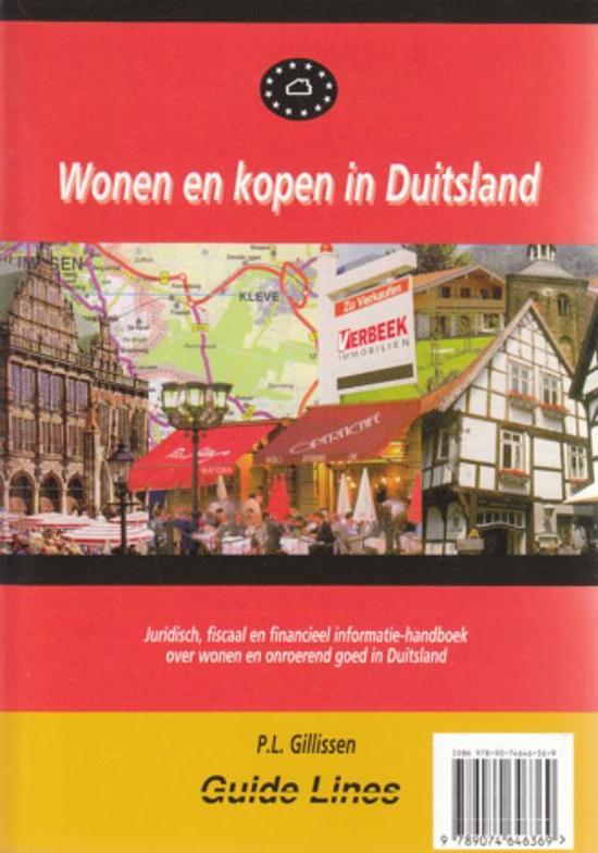 Wonen En Kopen In Duitsland Boek Pl Gillissen Pdf Ledihasni