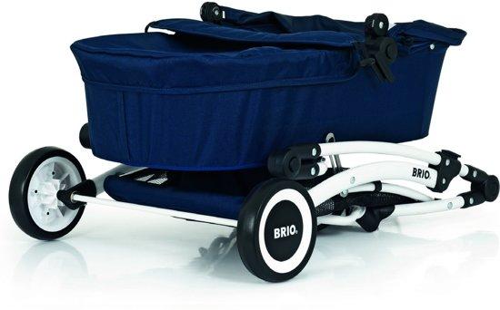 BRIO Poppenwagen Spin blauw - 24901000