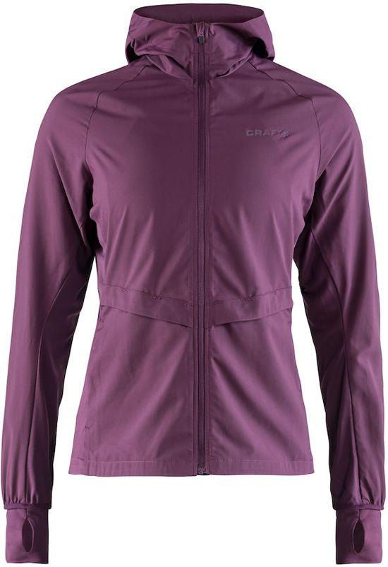 Craft Urban Run Hood Jacket Sportjas Dames - Tune - Maat XL