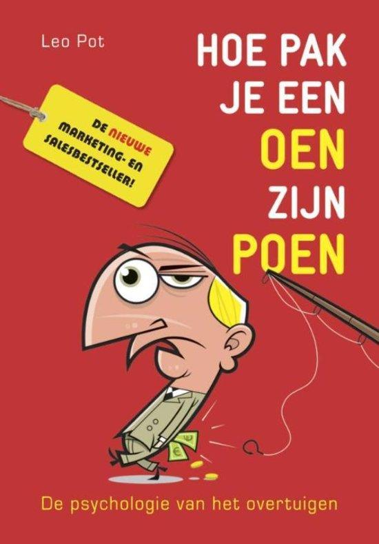 Boek cover Hoe pak je een oen zijn poen van Leo Pot (Onbekend)