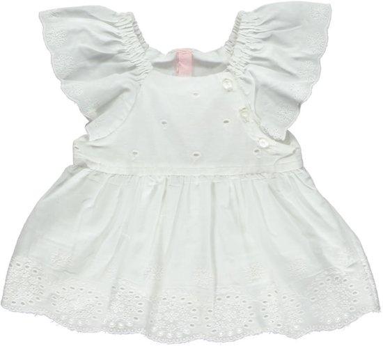 Babykleding Jurkje.Bol Com Losan Babykleding Jurkje Wit Broderie S97 Maat 56