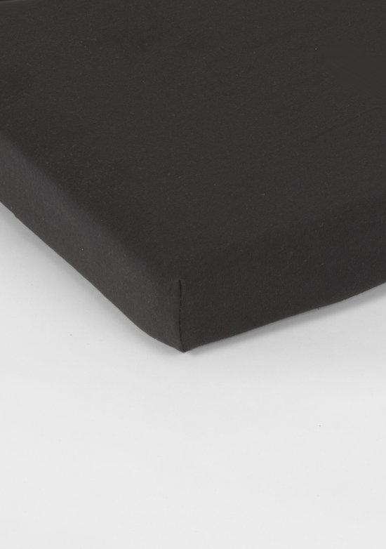Nightlife Jersey Topper Hoeslaken Black-200 x 210/220 cm