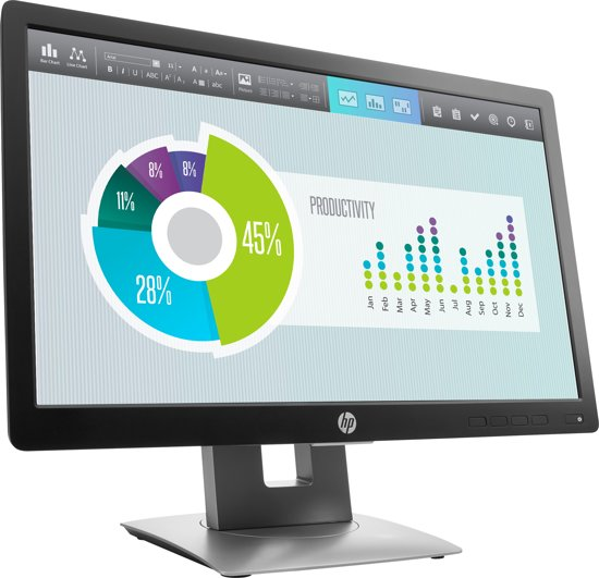 HP EliteDisplay E202- Monitor