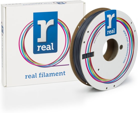 REAL Filament PLA grijs 1.75mm (500g)