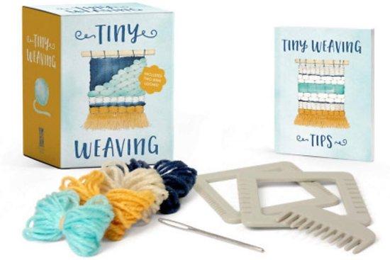 Running press mini kits Tiny weaving: includes two mini looms!