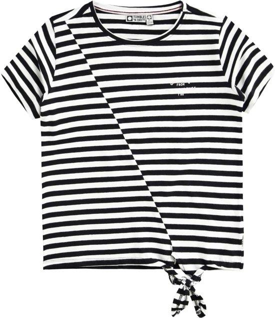 fa7cdb6e Tumble 'n dry Meisjes T-shirt Babeau - Deep Black - Maat 146/