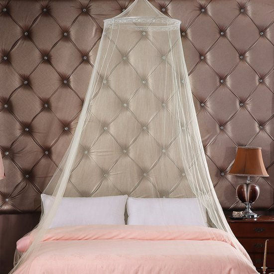 Luxe 2 Persoons Bedbank.Tweepersoons Xl Klamboe De Luxe Rond Muskietennet Reis Muggennet Anti Mosquitonet Geschikt Voor 2 Persoons Bed Extra Groot Met Ophangkoord