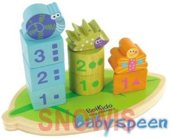 Stapelbare Vormen Boikido speelgoed hout