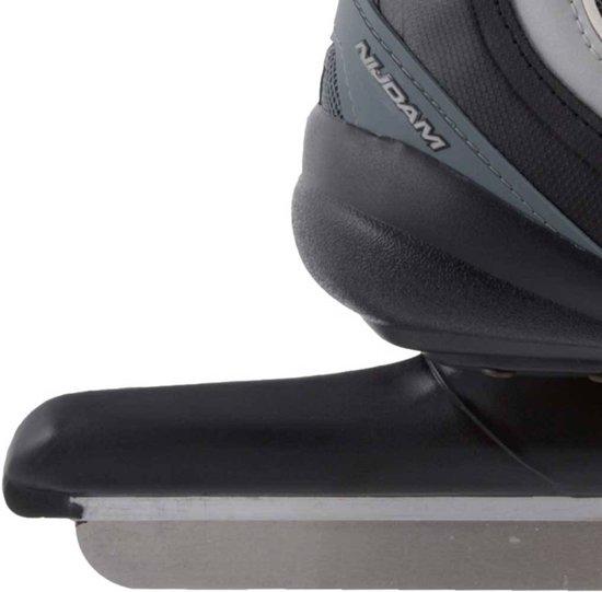 Nijdam 3416 Norenschaats Pro-line - Softboot - Volwassenen - Zilver - Maat 44