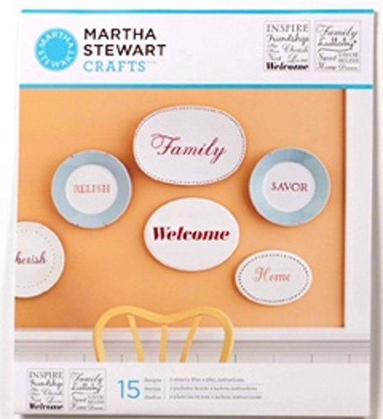 Martha Stewart Medium Stencil Inspiration