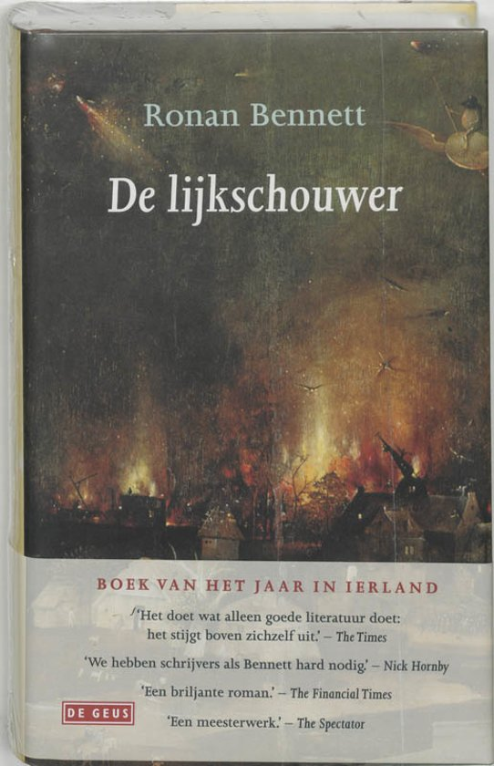 Cover van het boek 'De lijkschouwer' van Rodney Bennett en R. Bennet