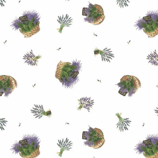 2LIF Lavendel Tafelzeil - PVC -  140 x 170 cm