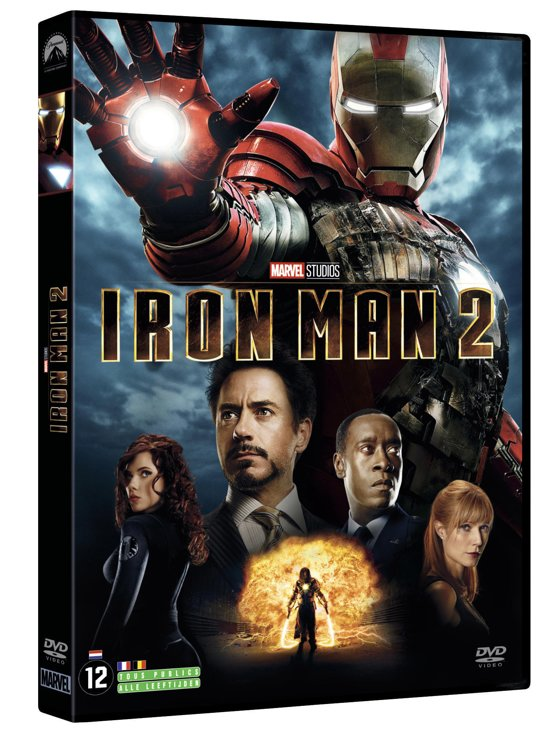 DVD cover van Iron Man 2