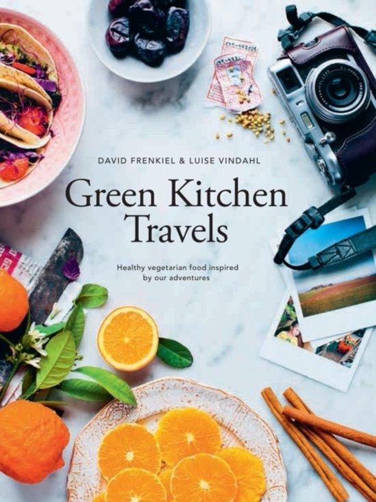 Boek cover Green Kitchen Travels : Vegetarian Food Inspired by Our Adventures van David Frenkiel (Hardcover)