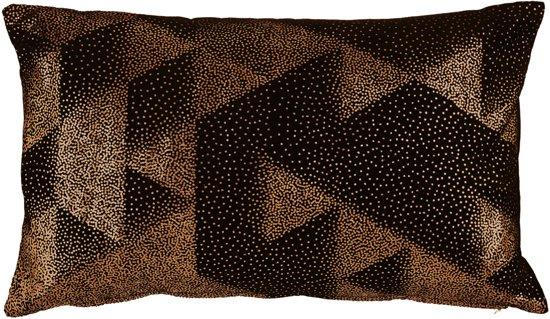 KAAT Amsterdam Graphic Dots - sierkussen - 30x50 cm - Goud