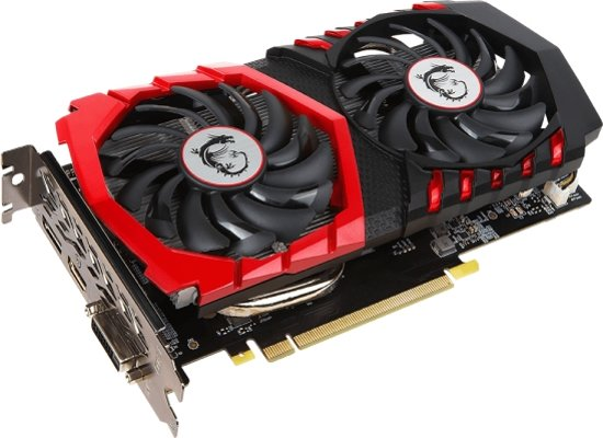 MSI GeForce GTX 1050 Gaming X 2GB