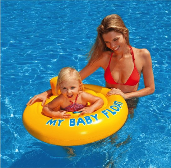 Intex Opblaasbare Baby Float - Zwemtrainer - tot 11 kilogram