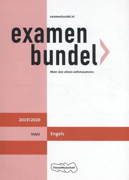 Afbeelding van Examenbundel vwo Engels 2019/2020