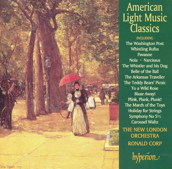 American Light Classics / Ronald Corp, New London Orchestra