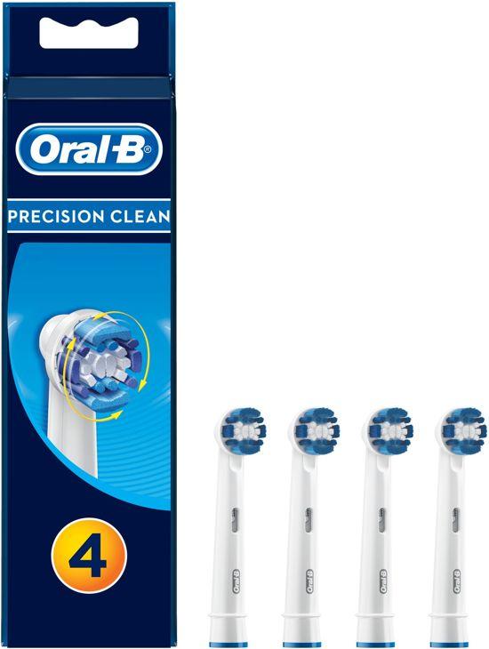 Oral-B Precision Clean Opzetborstels - 3+1 stuks
