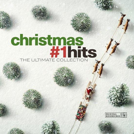 CD cover van Christmas #1 Hits - The Ultimate Collection van various artists