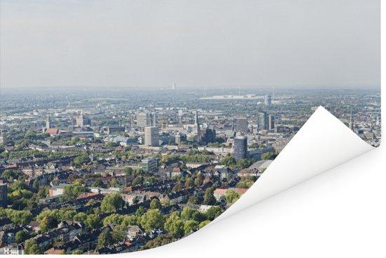 Luchtfoto van de Duitse stad Dortmund Poster 180x120 cm - Foto print op Poster (wanddecoratie woonkamer / slaapkamer) / Europese steden Poster XXL / Groot formaat!