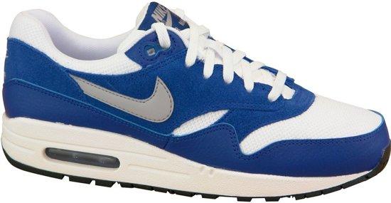 | Nike Air Max 1 GS Sneakers BlauwWitGrijs
